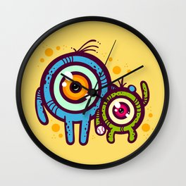 Dad and Son Wall Clock