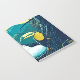 costa rica rainforest Notebook