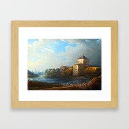 Carl Johan Fahlcrantz Nyköping Castle Framed Art Print