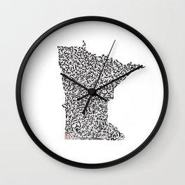 State Secrets - Minnesota Wall Clock