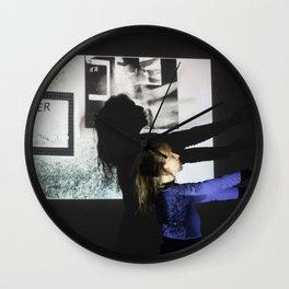 DropArt & Shirly @BYOB TelAviv #05 Wall Clock