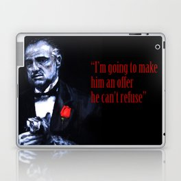 Don Vito Corleone The Godfather Laptop & iPad Skin