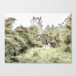 Abandoned Village Canvas Print