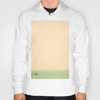 sailing Hoodies featuring Sailing by Maite Pons