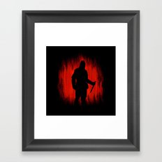The assassin rippers bloody sunday Framed Art Print
