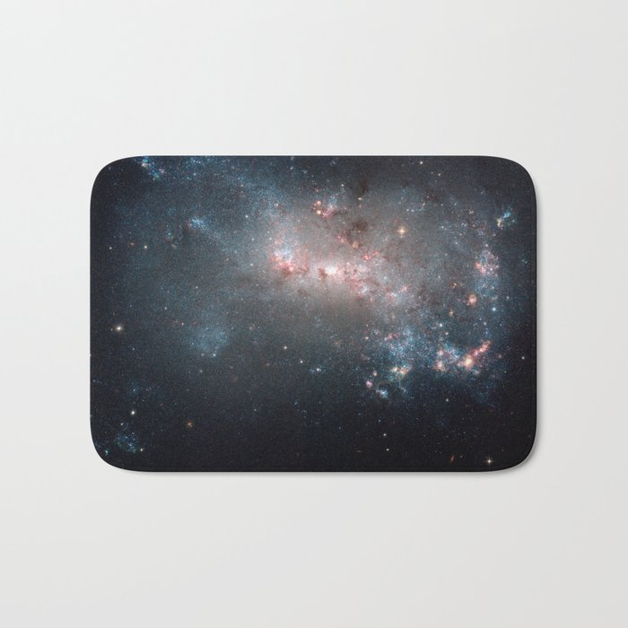 Starburst - Captured by Hubble Telescope Bath Mat