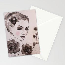 Rose Lady Stationery Cards