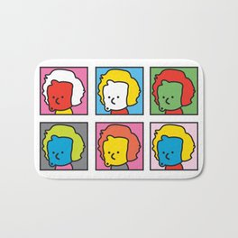 Ooh Zoo – art-series, Warhol Bath Mat