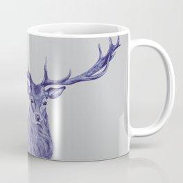Blue Deer Coffee Mug