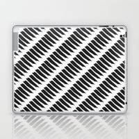 Black and White Tiger Stripes Laptop & iPad Skin