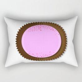 Chocolate Box Strawberry Rectangular Pillow