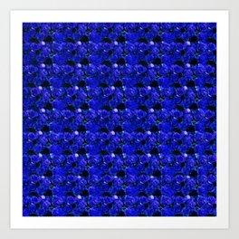 Blue Roses 1.1 Art Print