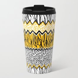 wild stripes pattern Travel Mug