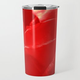 Red Rose Travel Mug
