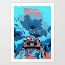 Back to the Future 2 - BTTF Art Print