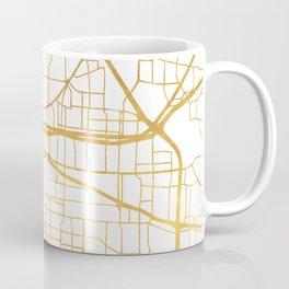 MEMPHIS TENNESSEE CITY STREET MAP ART Coffee Mug