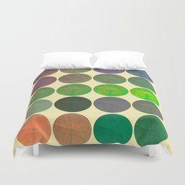 Disco Discs 2 Duvet Cover