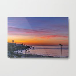 Dawn Over Corona Del Mar II Metal Print