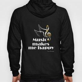 Music makes me happy Hoody