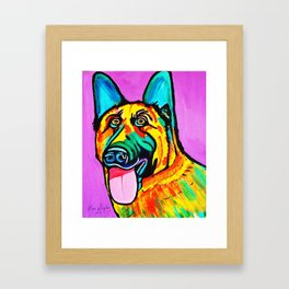 CONRAD Framed Art Print