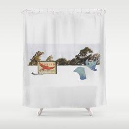 Strike Anywhere Shower Curtain