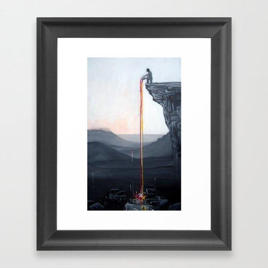 A Neutral World Framed Art Print