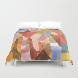 Movement Of Vaulted Chambers by Paul Klee 1915 Duvet Cover