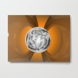 Adaptation plac fine art abstract background Metal Print