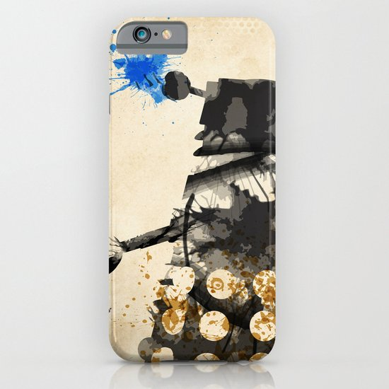 Doctor Who Dalek Rustic iPhone & iPod Case