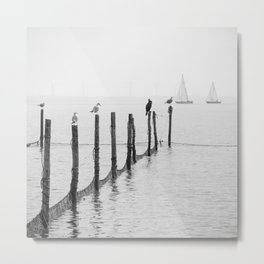 Northern Sea Metal Print