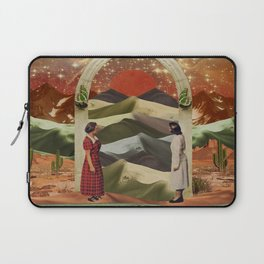 Magic door to the infinite deserts Laptop Sleeve