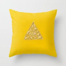 Tortilla Chip Throw Pillow