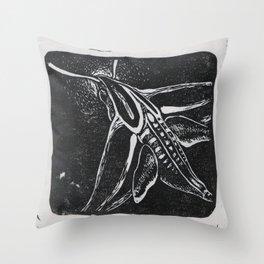 The Hummingbird Moth Throw Pillow