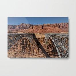 Navajo_Bridge - Marble_Canyon, Arizona Metal Print