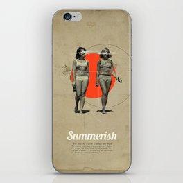 Summerish iPhone Skin