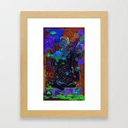 Jardins de mon âme Framed Art Print