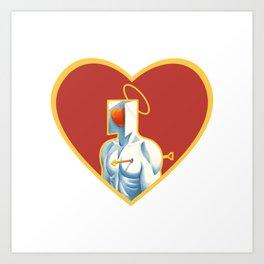 The Heart of Love Art Print