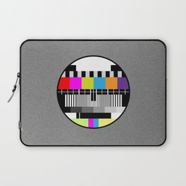 Television Color Test Laptop Sleeve