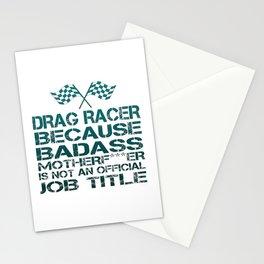 Drag Racer Stationery Cards