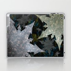 Snowflakes and Space Laptop & iPad Skin