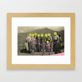 Get Right To The Point Framed Art Print