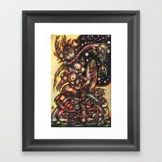 Zwitter  Framed Art Print