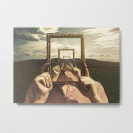 Empty Frame Metal Print