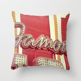 Famous Throw Pillow