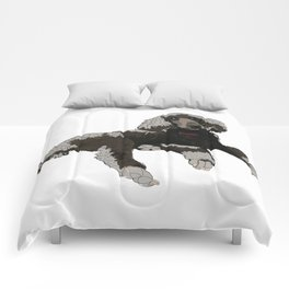 Too Cool Poodle Comforters