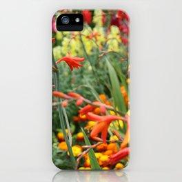 Flowers in the Kitchen Garden iPhone Case