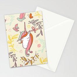 Vintage Dreams Unicorn Stationery Cards