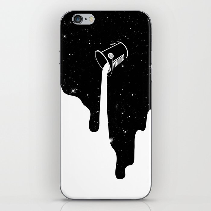The Big Spill iPhone Skin