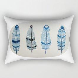 The four siblings of mother bird Rectangular Pillow