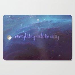 Everything Will Be Okay Cutting Board